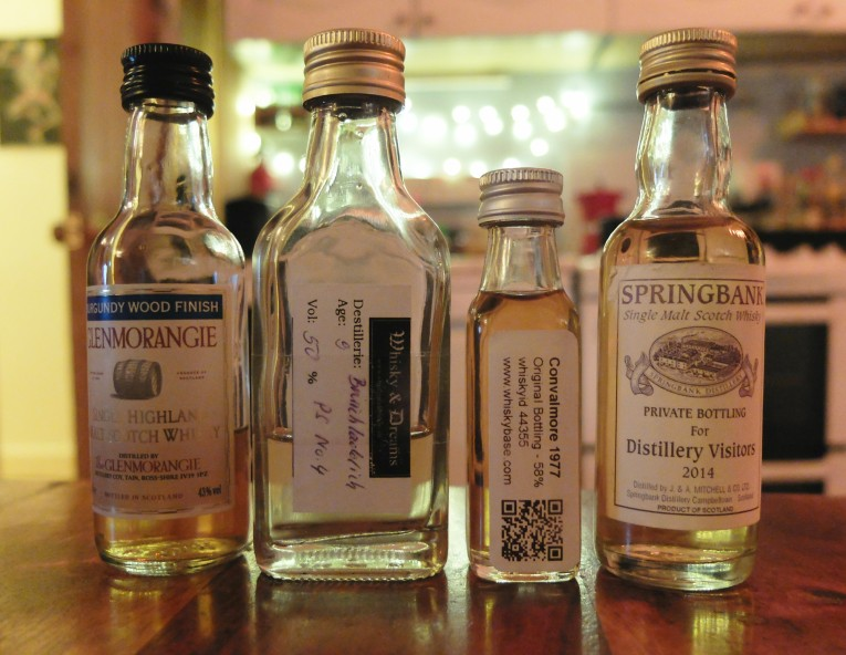 Tasting in Miniature - Selection