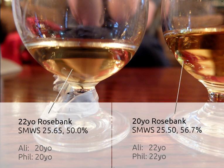 Rosebanks SMWS 25.65 & SMWS 25.50